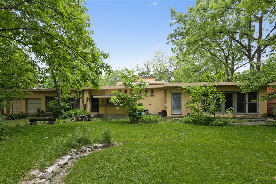 Real Estate Photography - 350 Fairbank Rd., Riverside, IL, 60546 - Rear View