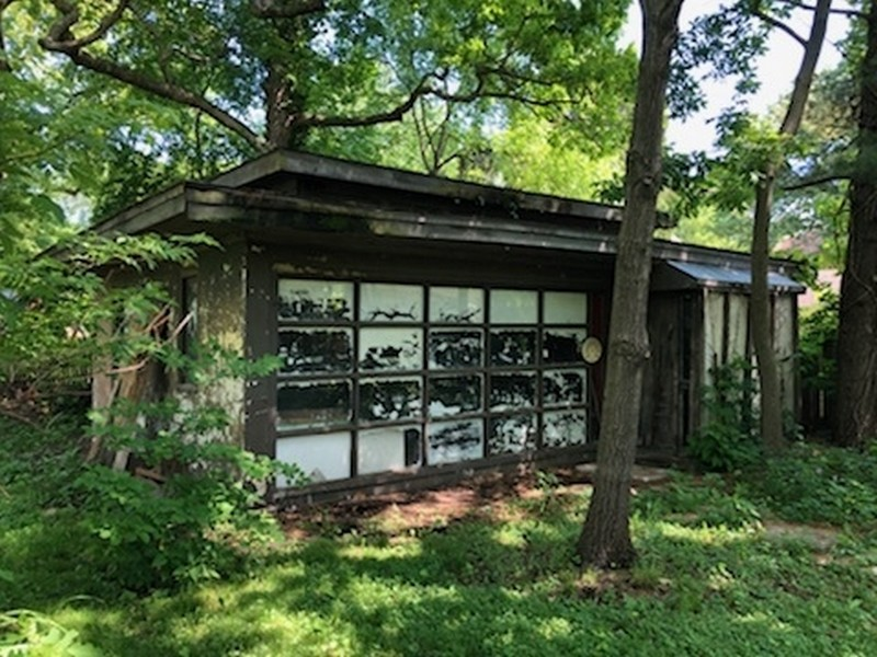 Real Estate Photography - 350 Fairbank Rd., Riverside, IL, 60546 - Garage/Shed
