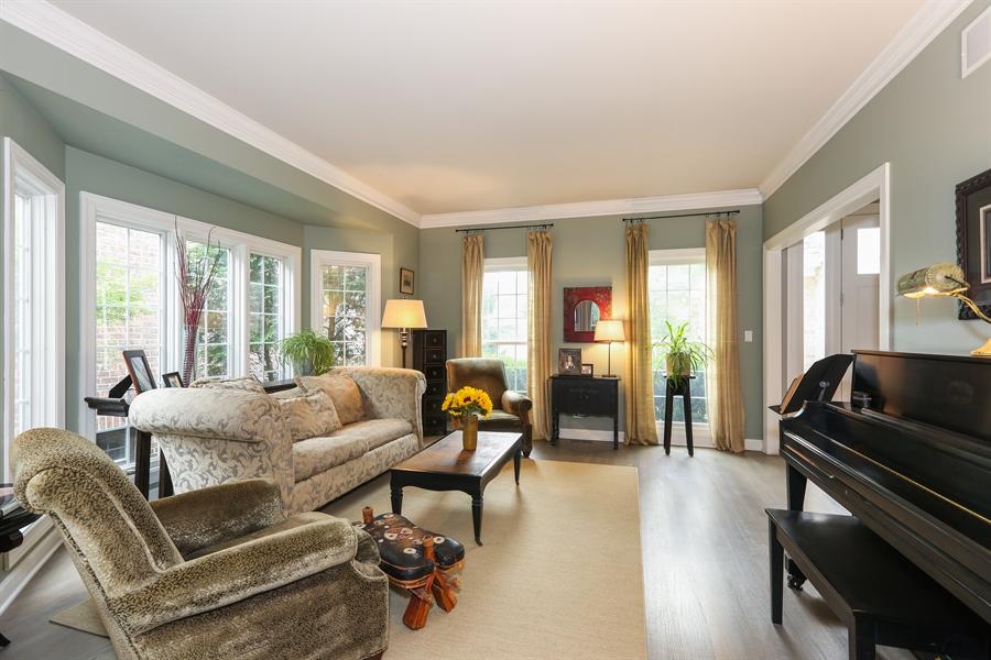 Real Estate Photography - 261 Walker Ave., Clarendon Hills, IL, 60514 - Living Room