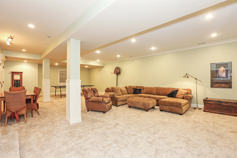 Real Estate Photography - 261 Walker Ave., Clarendon Hills, IL, 60514 - Recreation Room