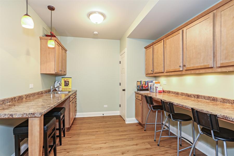 Real Estate Photography - 261 Walker Ave., Clarendon Hills, IL, 60514 - Craft Room / Homework Area
