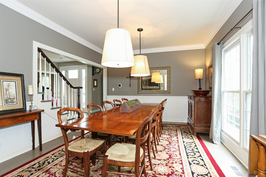Real Estate Photography - 261 Walker Ave., Clarendon Hills, IL, 60514 - Dining Room (alternate view)