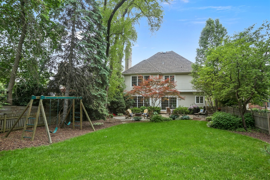 Real Estate Photography - 261 Walker Ave., Clarendon Hills, IL, 60514 - Back of Home