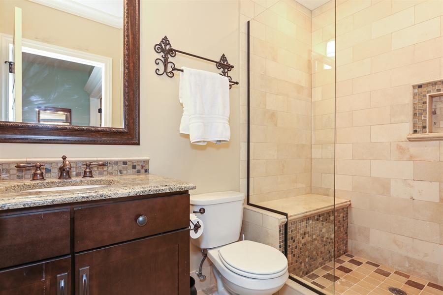 Real Estate Photography - 261 Walker Ave., Clarendon Hills, IL, 60514 - Basement Bathroom