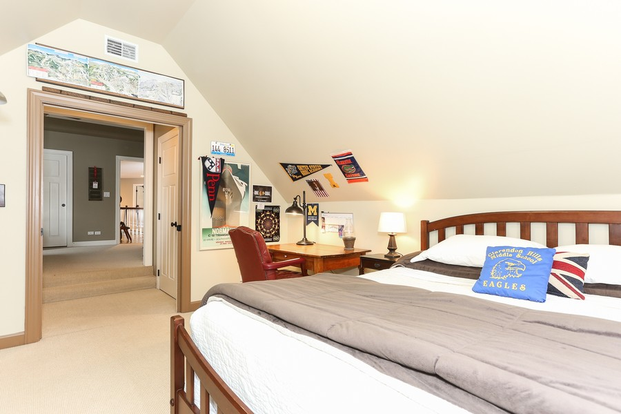 Real Estate Photography - 261 Walker Ave., Clarendon Hills, IL, 60514 - Bedroom 4 (alternate view)