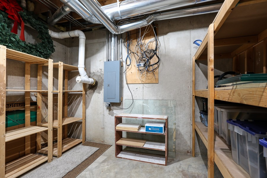 Real Estate Photography - 261 Walker Ave., Clarendon Hills, IL, 60514 - Storage Area
