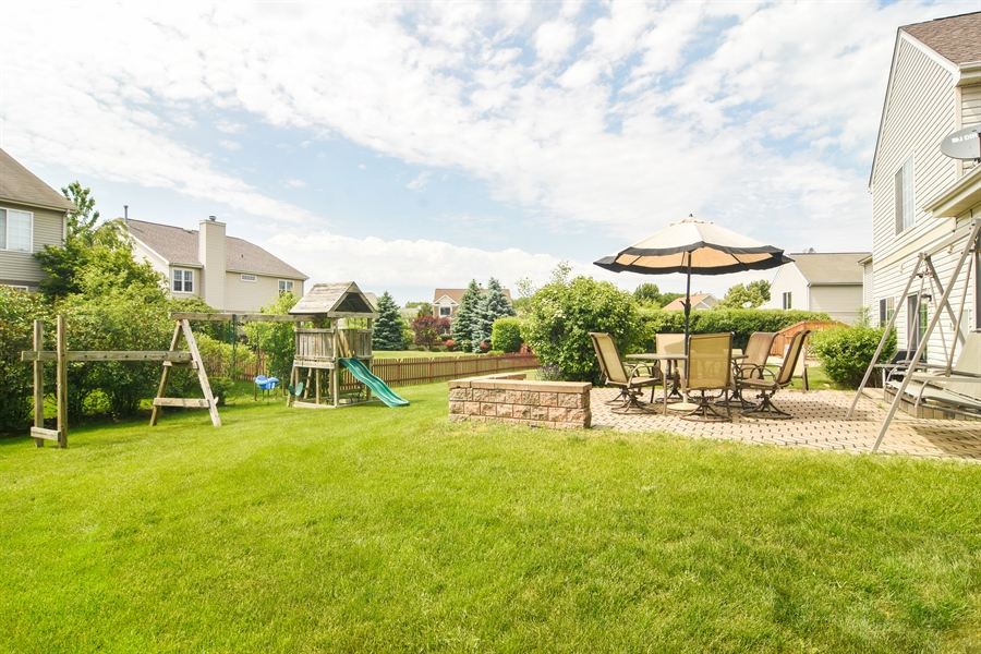 Real Estate Photography - 1960 Chamberry, Wheeling, IL, 60090 - Back Yard