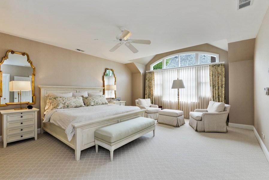 Real Estate Photography - 110 Glenwood, Winnetka, IL, 60093 - Master Bedroom