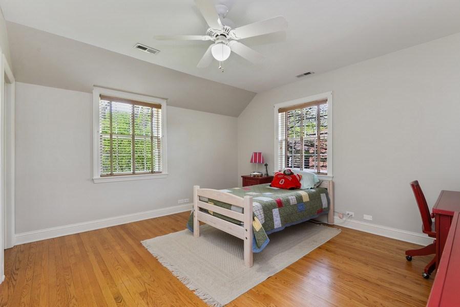 Real Estate Photography - 110 Glenwood, Winnetka, IL, 60093 - 2nd Bedroom