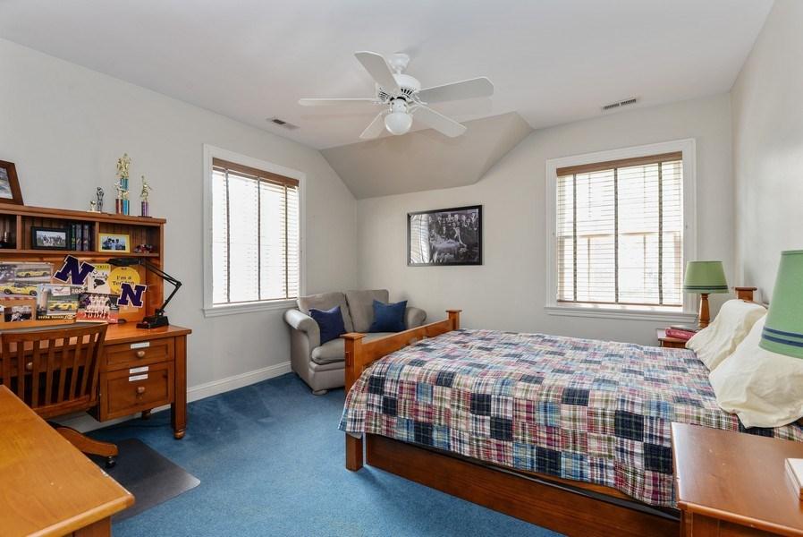 Real Estate Photography - 110 Glenwood, Winnetka, IL, 60093 - 3rd Bedroom