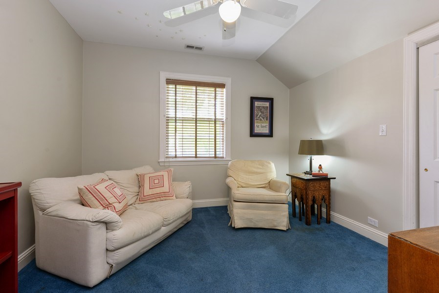 Real Estate Photography - 110 Glenwood, Winnetka, IL, 60093 - 4th Bedroom