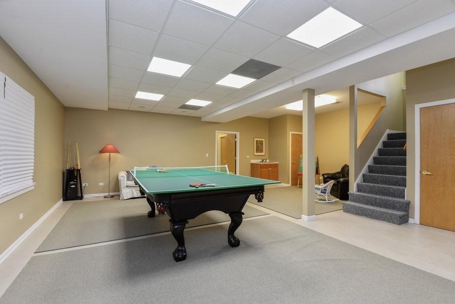 Real Estate Photography - 110 Glenwood, Winnetka, IL, 60093 - Recreational Room