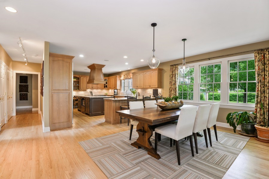 Real Estate Photography - 110 Glenwood, Winnetka, IL, 60093 - Kitchen / Breakfast Room