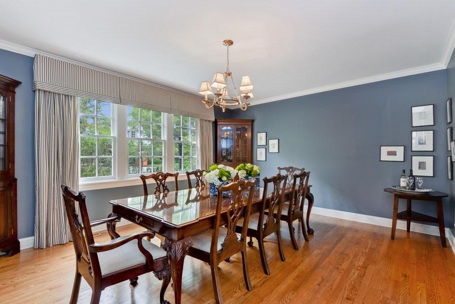 Real Estate Photography - 110 Glenwood, Winnetka, IL, 60093 - Dining Room