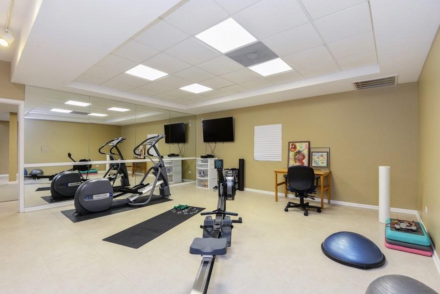 Real Estate Photography - 110 Glenwood, Winnetka, IL, 60093 - Fitness Room