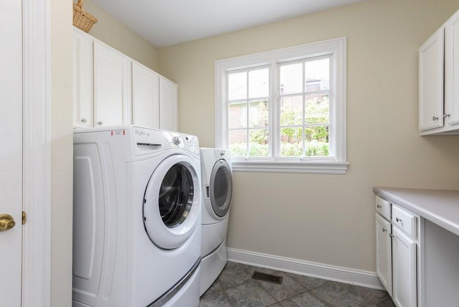 Real Estate Photography - 110 Glenwood, Winnetka, IL, 60093 - Laundry Room