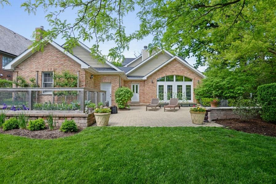 Real Estate Photography - 110 Glenwood, Winnetka, IL, 60093 - Rear View