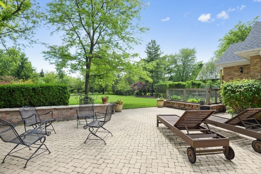 Real Estate Photography - 110 Glenwood, Winnetka, IL, 60093 - Patio