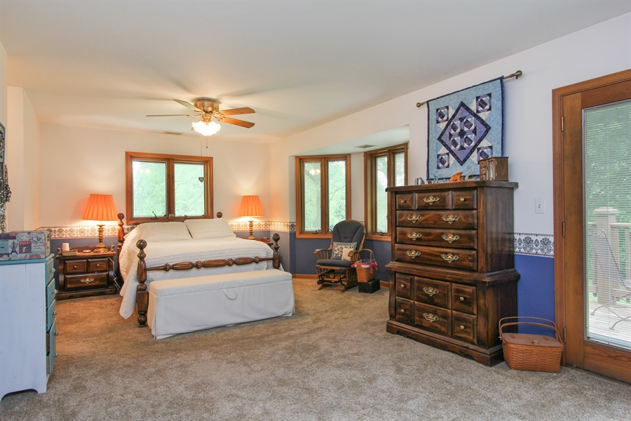 Real Estate Photography - 2 Conesus Ct, Hawthorn Woods, IL, 60047 - Master Bedroom