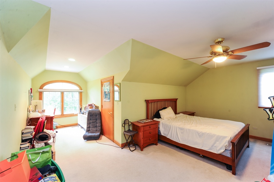 Real Estate Photography - 6334 Tennessee Ave., willowbrook, IL, 60527 - 4th Bedroom