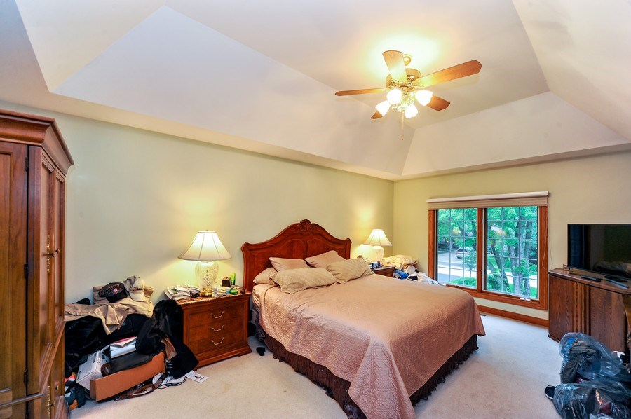Real Estate Photography - 6334 Tennessee Ave., willowbrook, IL, 60527 - Master Bedroom