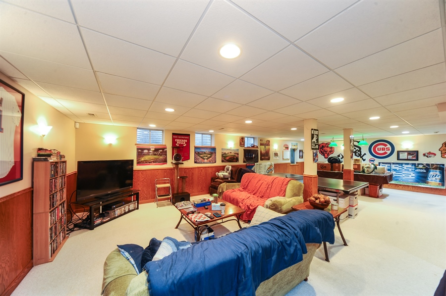 Real Estate Photography - 6334 Tennessee Ave., willowbrook, IL, 60527 - Basement