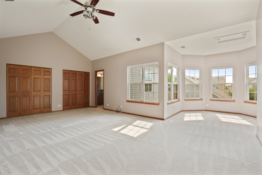 Real Estate Photography - 209 Dawn Court, Elgin, IL, 60124 - Master Bedroom