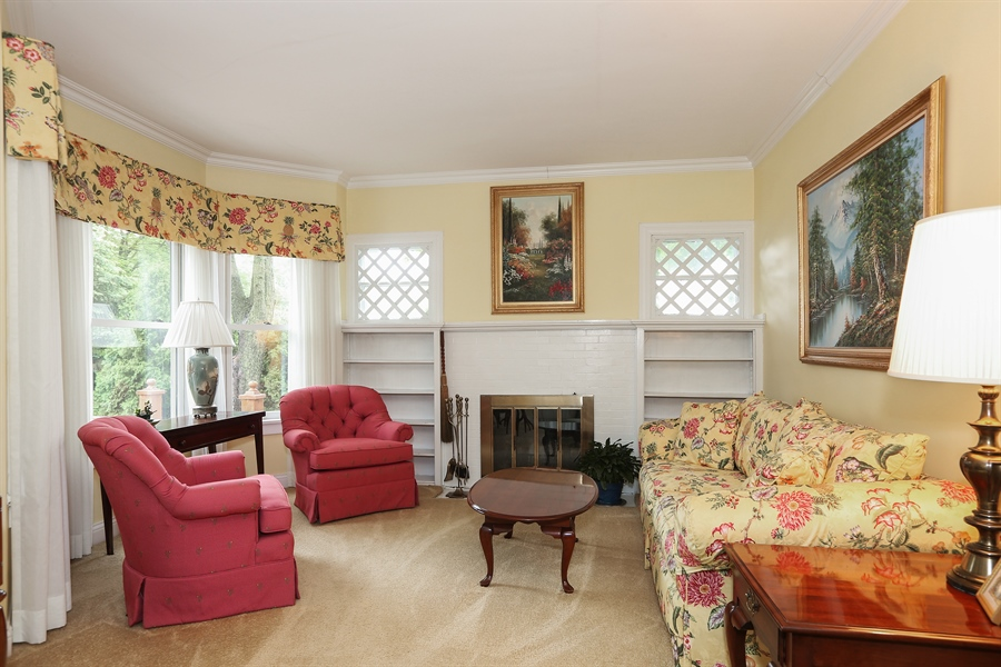 Real Estate Photography - 118 N. Monroe St., Hinsdale, IL, 60521 - Living Room