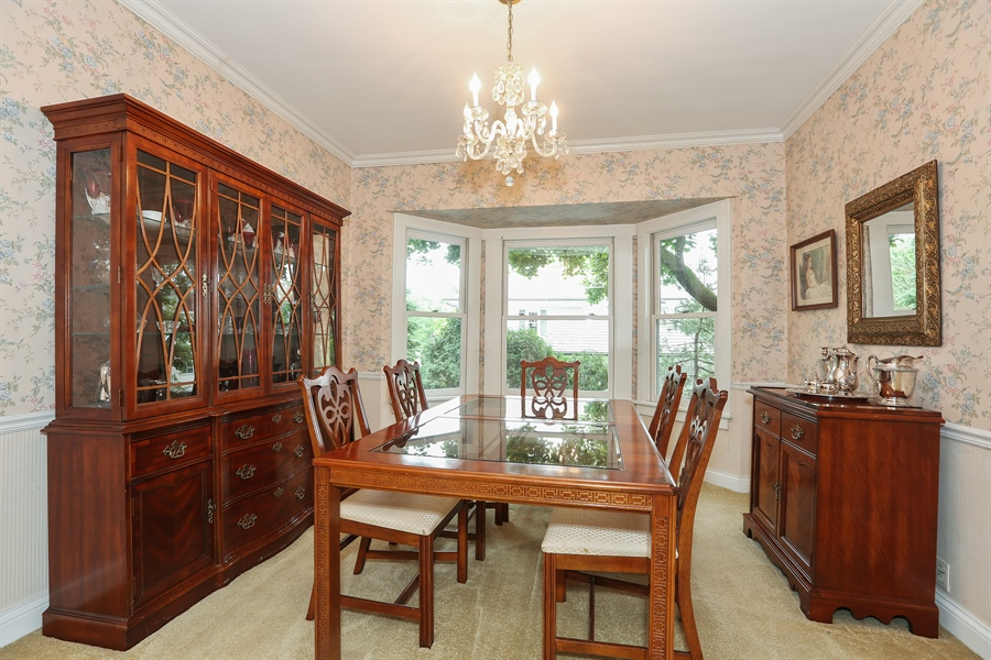 Real Estate Photography - 118 N. Monroe St., Hinsdale, IL, 60521 - Dining Room