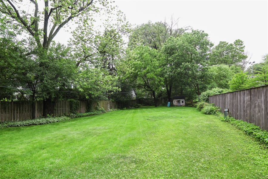 Real Estate Photography - 118 N. Monroe St., Hinsdale, IL, 60521 - Back Yard