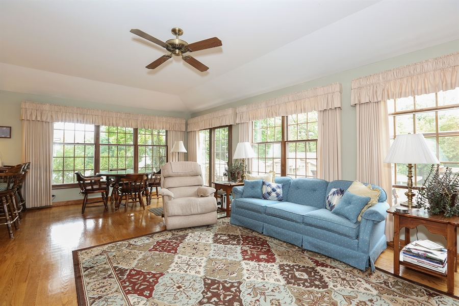 Real Estate Photography - 118 N. Monroe St., Hinsdale, IL, 60521 - Family Room