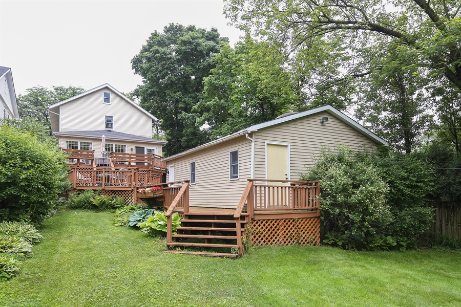 Real Estate Photography - 118 N. Monroe St., Hinsdale, IL, 60521 - Back of Home