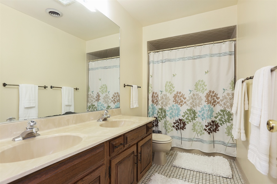 Real Estate Photography - 118 N. Monroe St., Hinsdale, IL, 60521 - Family Bathroom