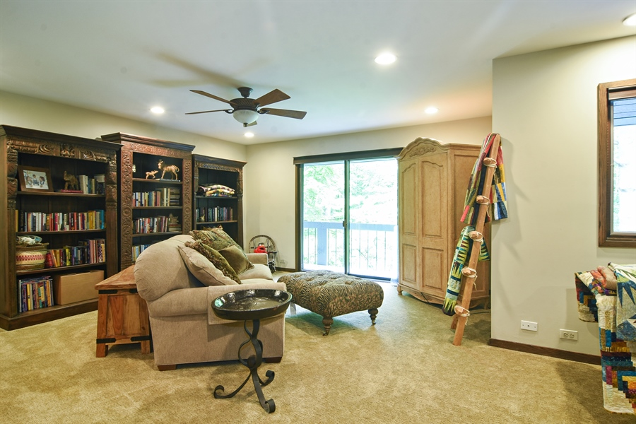 Real Estate Photography - 610 JUNEBERRY RD, RIVERWOODS, IL, 60015 - Bedroom