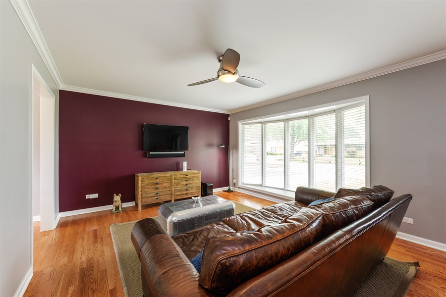 Real Estate Photography - 2148 Eastview Dr, Des Plaines, IL, 60018 - Living Room