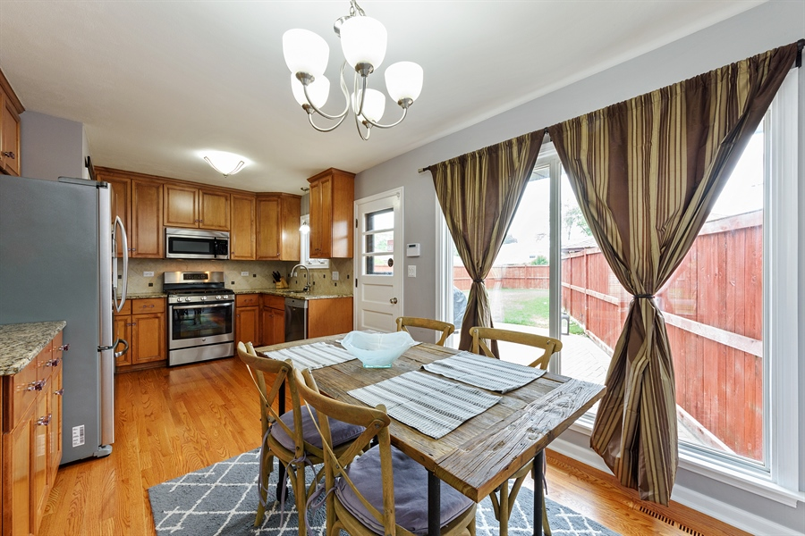 Real Estate Photography - 2148 Eastview Dr, Des Plaines, IL, 60018 - Kitchen / Breakfast Room