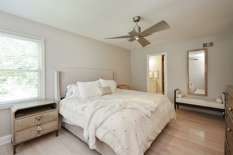 Real Estate Photography - 2000 S Valley Rd, Lombard, IL, 60148 - Master Bedroom