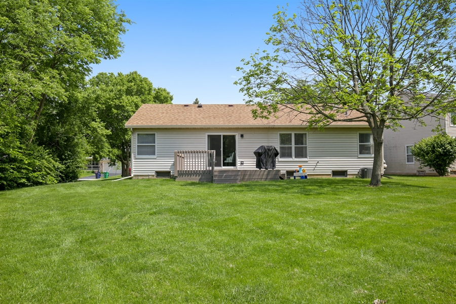Real Estate Photography - 2000 S Valley Rd, Lombard, IL, 60148 - Rear View