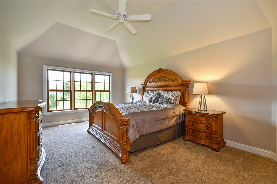 Real Estate Photography - 4135 River Ridge Dr, St Charles, IL, 60175 - Master Bedroom
