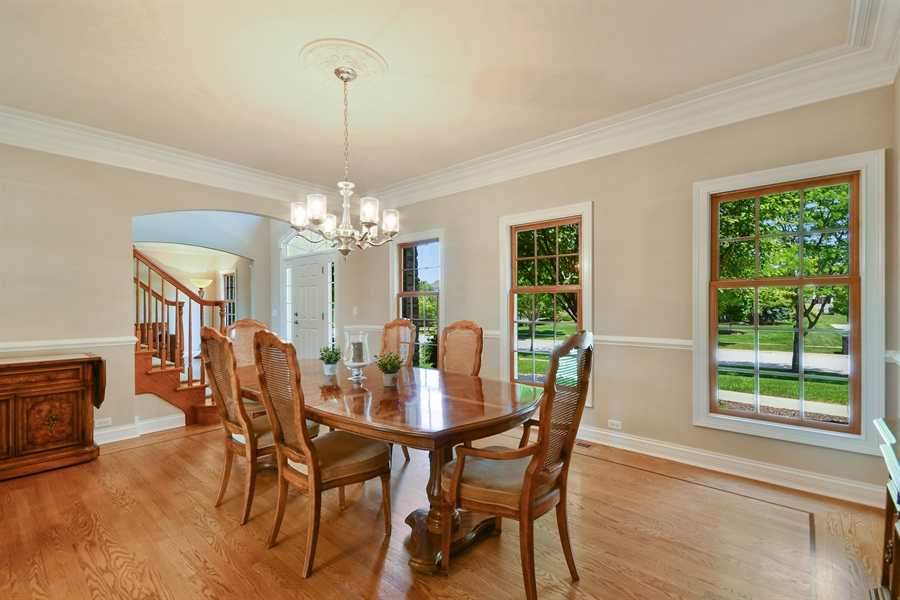 Real Estate Photography - 4135 River Ridge Dr, St Charles, IL, 60175 - Dining Room