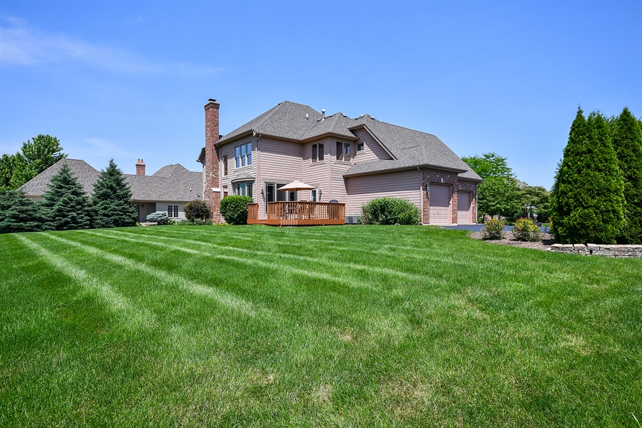 Real Estate Photography - 4135 River Ridge Dr, St Charles, IL, 60175 - Back Yard