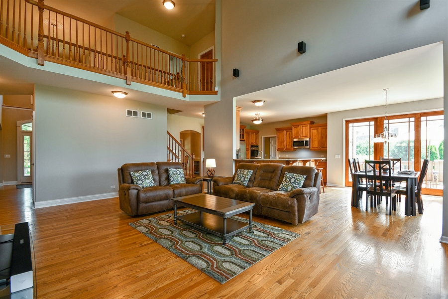 Real Estate Photography - 4135 River Ridge Dr, St Charles, IL, 60175 - Family Room