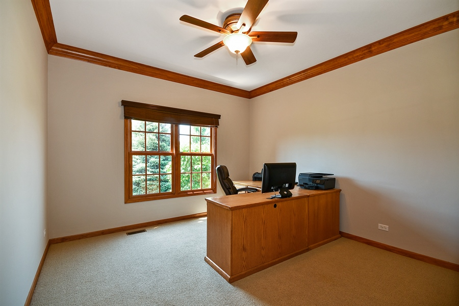 Real Estate Photography - 4135 River Ridge Dr, St Charles, IL, 60175 - Den