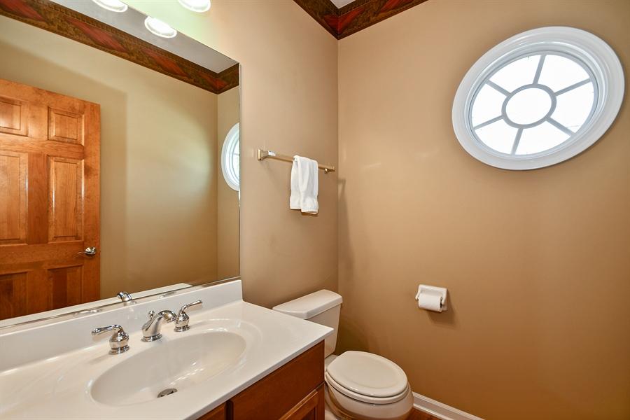 Real Estate Photography - 4135 River Ridge Dr, St Charles, IL, 60175 - Half Bath