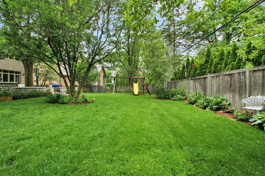 Real Estate Photography - 906 Queens, Glenview, IL, 60025 - Back Yard