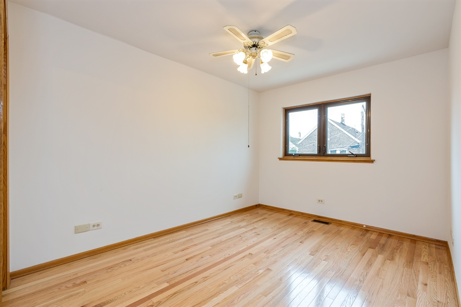 Real Estate Photography - 3841 S. Wood St., Chicago, IL, 60609 - 2nd Bedroom