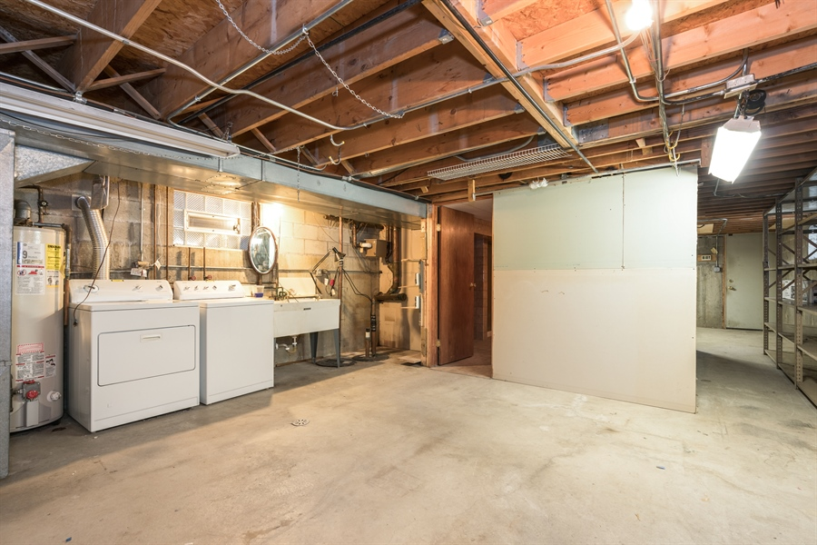 Real Estate Photography - 3841 S. Wood St., Chicago, IL, 60609 - Lower Level