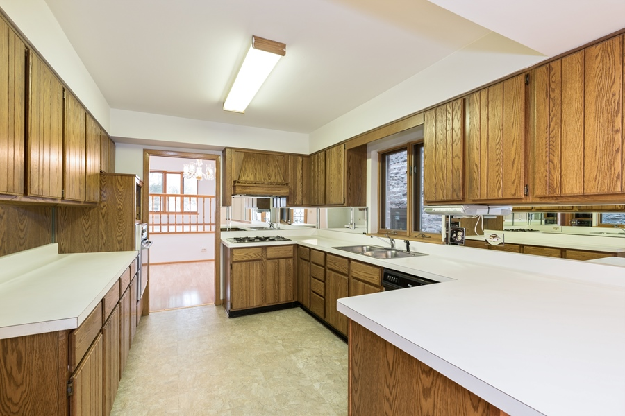 Real Estate Photography - 3841 S. Wood St., Chicago, IL, 60609 - Kitchen