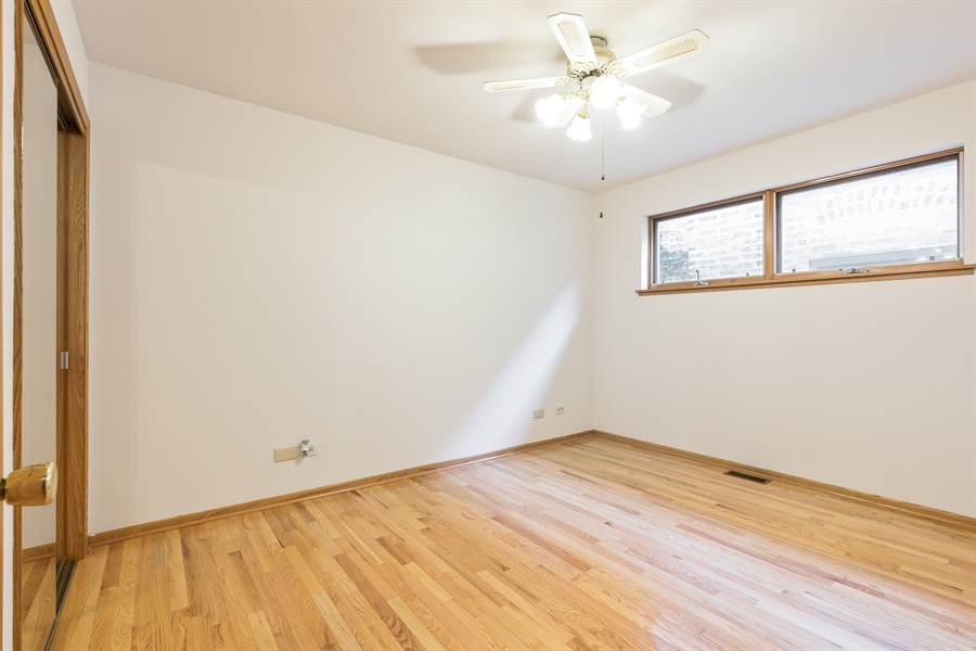 Real Estate Photography - 3841 S. Wood St., Chicago, IL, 60609 - Bedroom