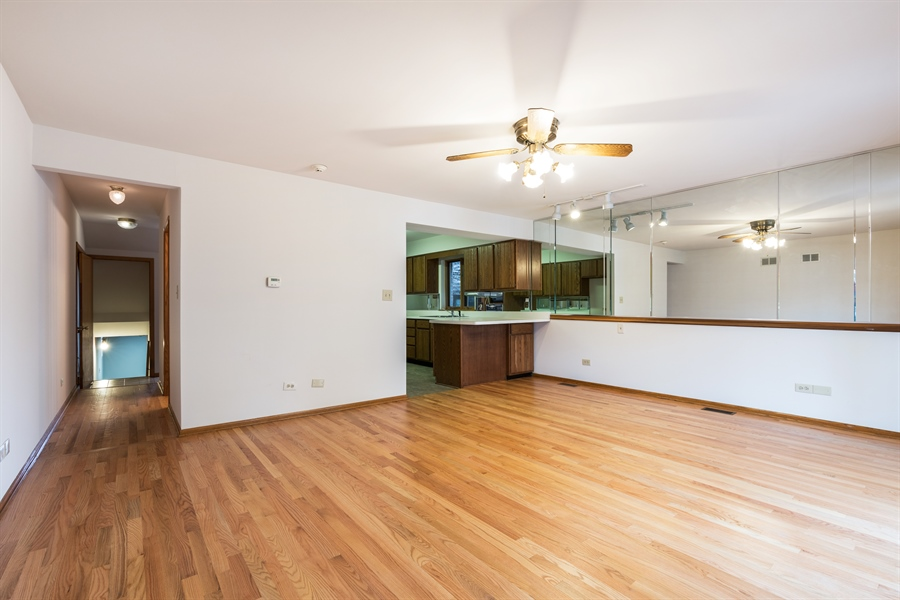 Real Estate Photography - 3841 S. Wood St., Chicago, IL, 60609 - Family Room